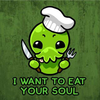 Cthulhu - I want to eat your soul