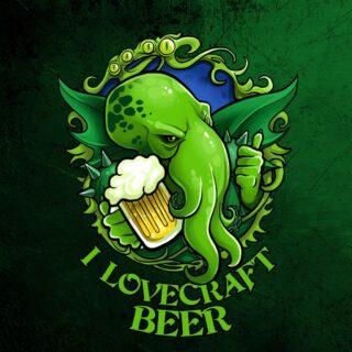 I lovecraft beer