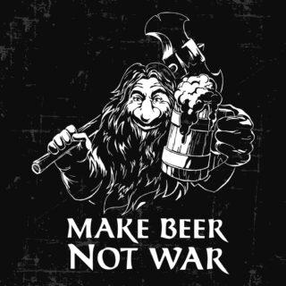 Make beer not war