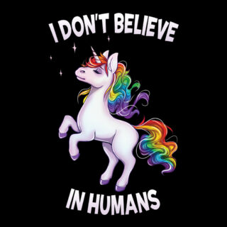 I dont believe in humans