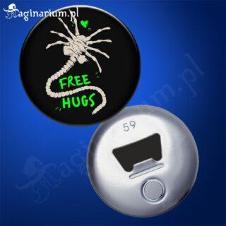 Otwieracz Alien Free Hugs