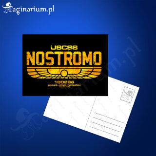 Pocztówka Alien Nostromo