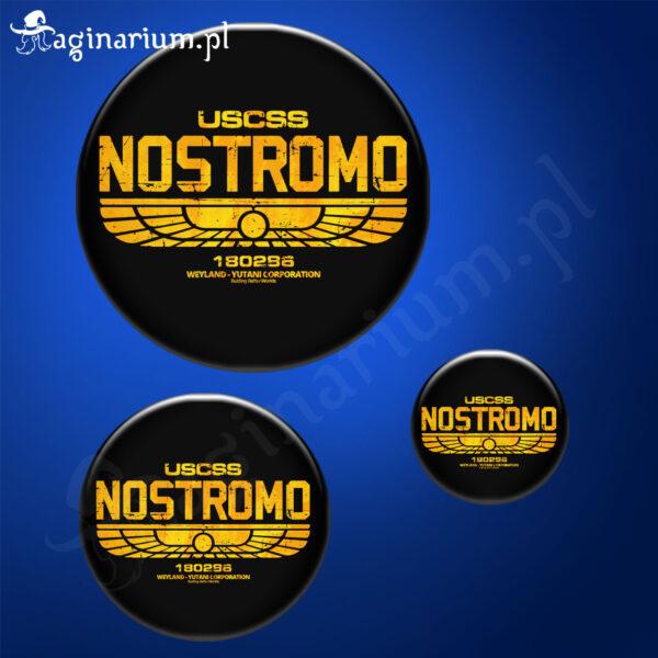 Przypinka Alien Nostromo