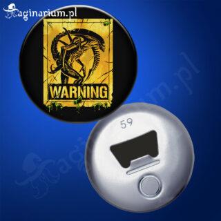 Otwieracz Alien Warning!