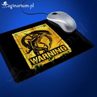 Podkładka pod mysz Alien Warning!
