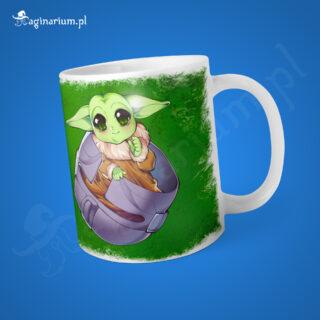 Kubek Baby Yoda w hełmie