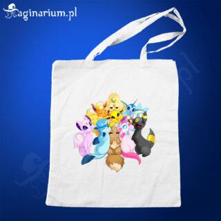 Eko torba Pokemony Eevee Fotka