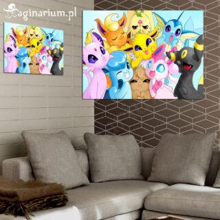 Plakat Pokemony Eevee Fotka