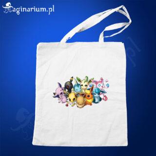 Eko torba Pokemony Eevee Rodzinka