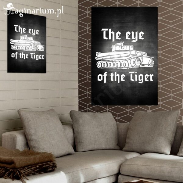Plakat Eye of the Tiger