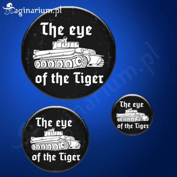 Przypinka Eye of the Tiger