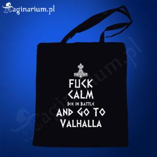 Eko torba Fuck calm go to Valhalla