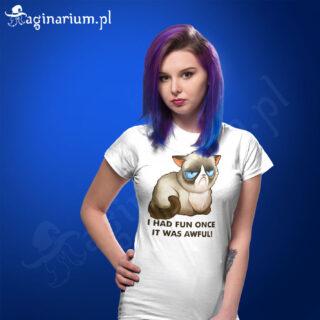 Koszulka Grumpy Cat - I had fun once