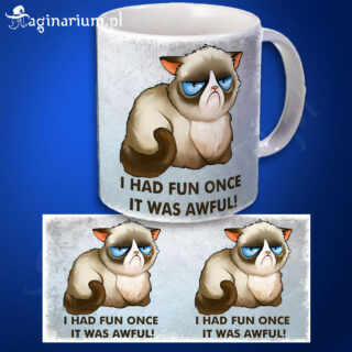 Kubek Grumpy Cat - I had fun once