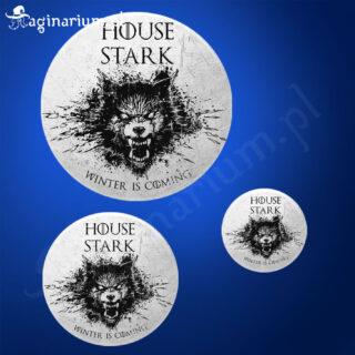 Przypinka House Stark