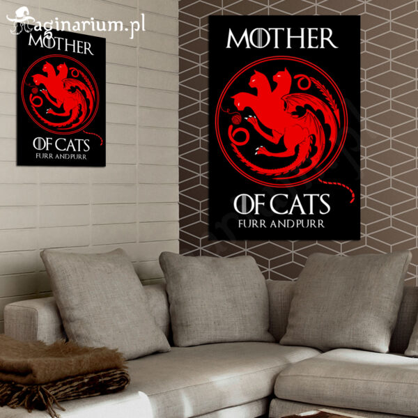 Plakat Mother of Cats