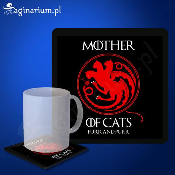 Podstawka pod kubek Mother of Cats