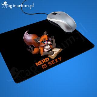 Podkładka pod mysz Nerd is Sexy