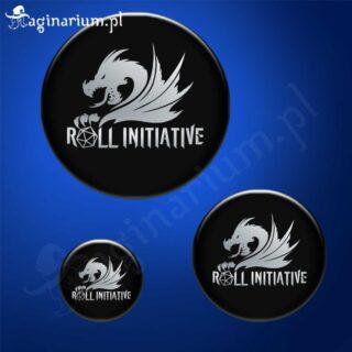 Przypinka Roll Initiative