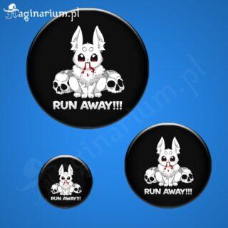 Przypinka Run Away