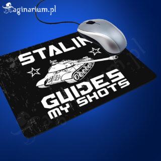 Podkładka pod mysz Stalin guides my shots