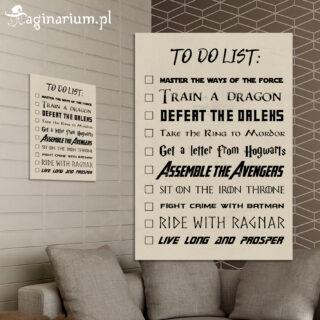 Plakat To Do List