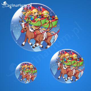 Przypinka Christmas in Hyrule